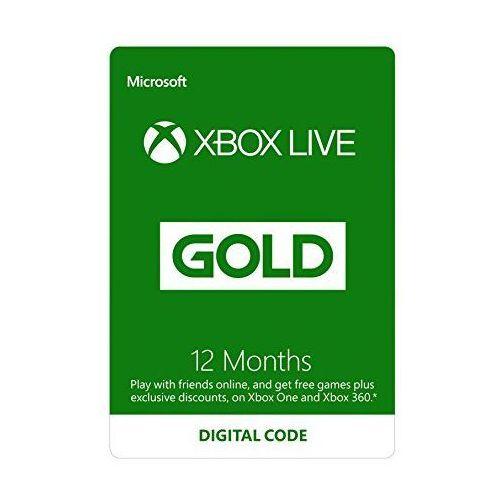 Microsoft Xbox Live Gold - 12 miesięcy (S4T-00019)