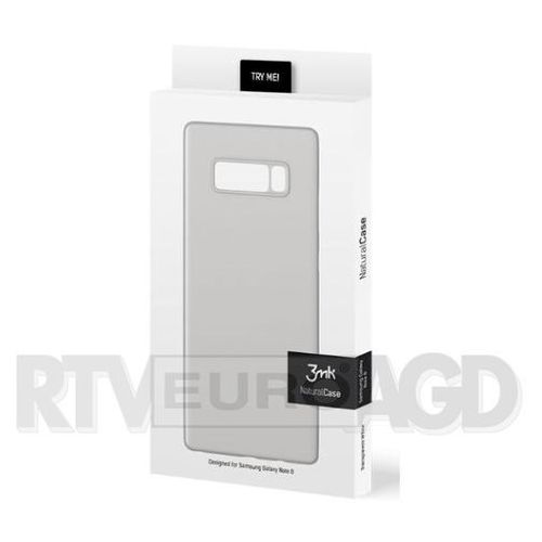 3mk natural case samsung galaxy note 8 (biały) (5901571123141)