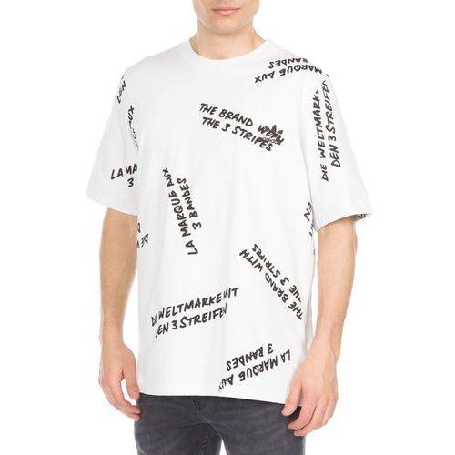 adidas Originals NYC Graffiti Print Koszulka Biały XL