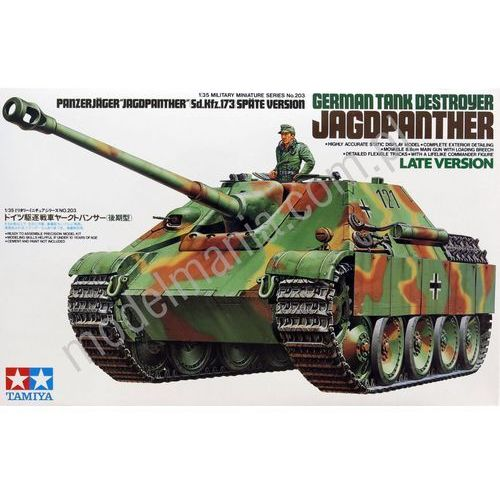 Tamiya german jagdpanther late version - tamiya