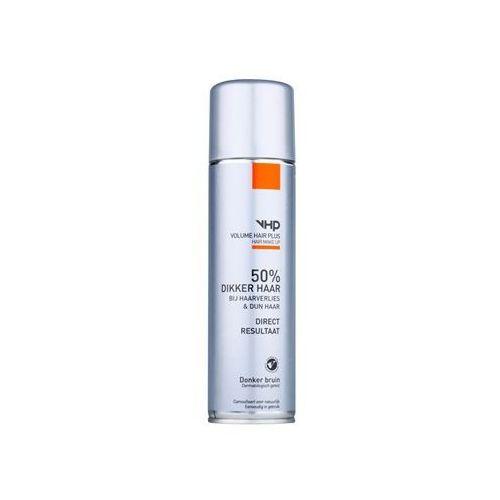 Volume hair plus  hair make up spray zwiększający objętość włosów cienkich i przerzedzonych w sprayu odcień dark brown 250 ml