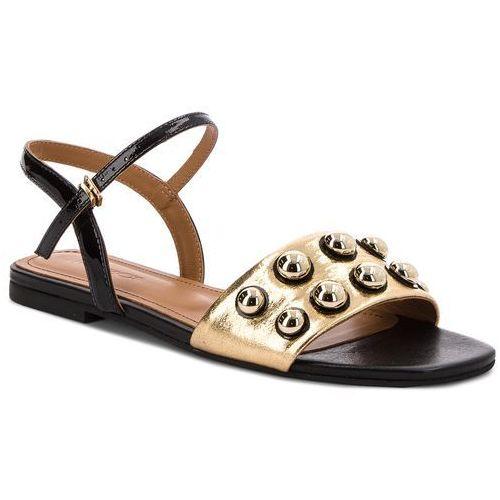 Sandały KAZAR - Parrita 32266-18-52 Czarny Złoty, w 4 rozmiarach