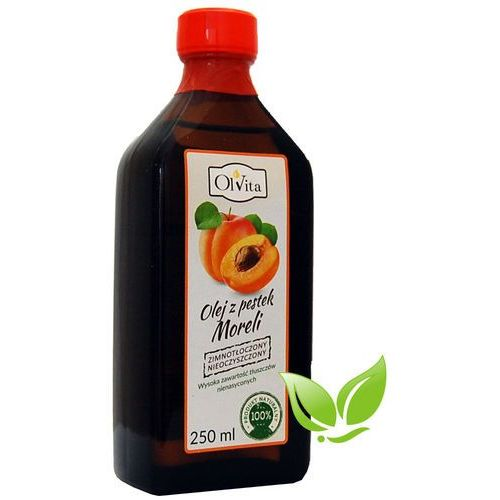 : olej z pestek moreli - 250 ml marki Olvita. Najniższe ceny, najlepsze promocje w sklepach, opinie.
