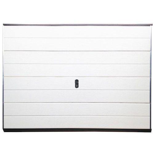 Brama garażowa segmentowa balido gładka - biały marki Vente-unique