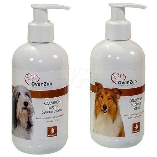 OVER ZOO Zestaw Dla Psów Długowłosych (Szampon + Odżywka) 2x250ml - produkt z kategorii- Pielęgnacja psów