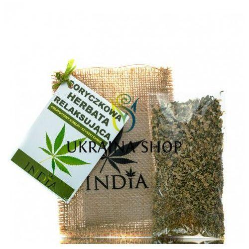 Goryczkowa ziołowa herbata relaksująca, marki India cosmetics