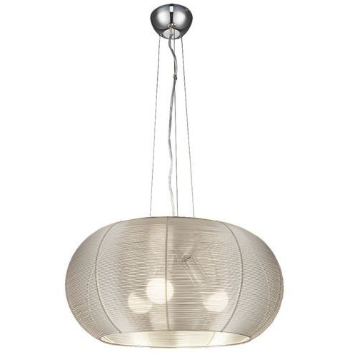 Rabalux Lampa oprawa wisząca meda 3x60w e27 srebrny 2884