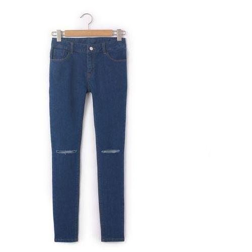 Dżinsy rurki z dziurami 10-16 lat marki R pop