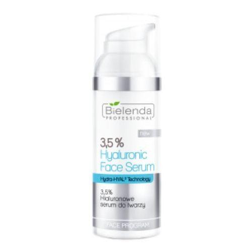 3,5% hyaluronic face serum 3,5% hialuronowe serum do twarzy marki Bielenda professional