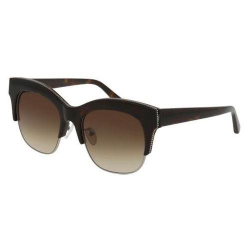 Okulary Słoneczne Stella McCartney SC0075SA Asian Fit 004, kolor żółty
