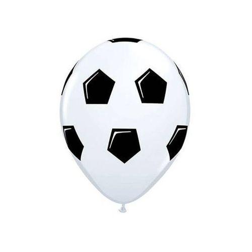 Balony z nadrukiem piłka nożna - 30 cm - 5 szt. marki Go