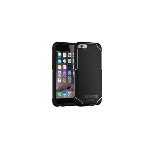 Etui Griffin Survivor Journey iPhone 6 / 6s, czarno-białe (0685387423842)