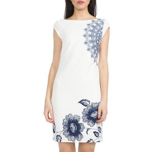 melisa dress biały xs, Desigual