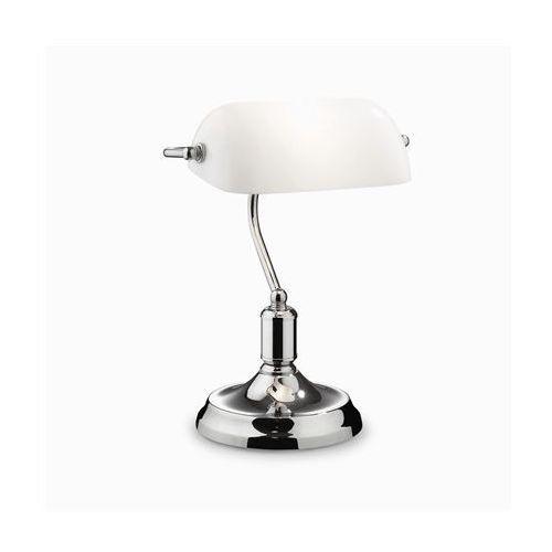 Ideal-lux Lampa biurkowa lawyer tl1 chrom, 45047