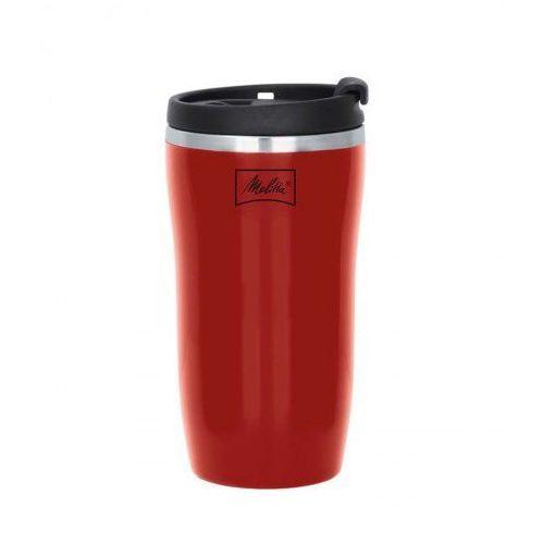 Melitta Kubek termiczny 250ml - czerwony