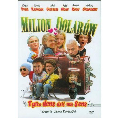 Milion dolarów (DVD) - Janusz Kondratiuk, Dominik W. Rettinger (5900058129157)