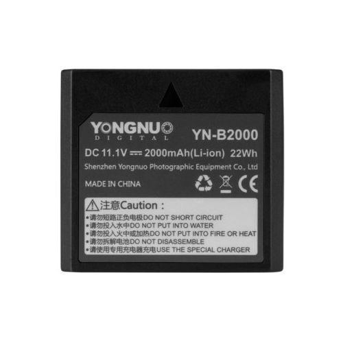 Yongnuo Akumulator yn-b2000 do lamp błyskowych (5901891108262)