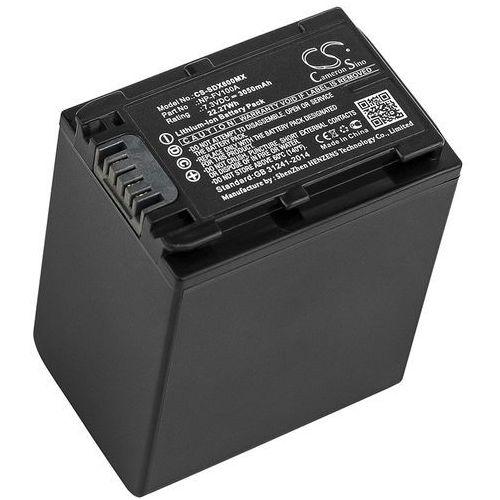Cameron sino Sony fdr-ax33 / np-fv100a 3050mah 22.27wh li-ion 7.3v ()