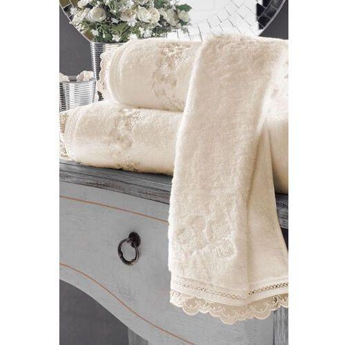 Soft cotton Zestaw podarunkowy małych ręczników luna, 3 szt śmietankowy (8698642045538)