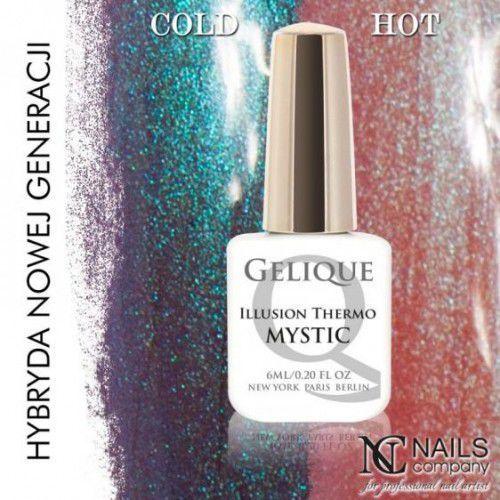 Nails Company GELIQUE ILLUSION THERMO MYSTIC 6ML - Żel hybrydowy