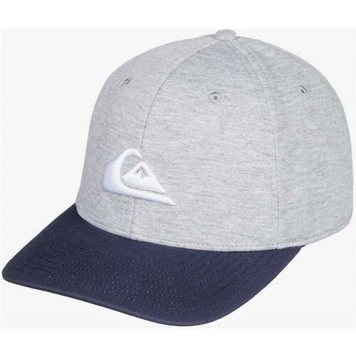czapka z daszkiem QUIKSILVER - Pinpoint Stretc Majolica Blue (BSM0) rozmiar: S/M, kolor niebieski