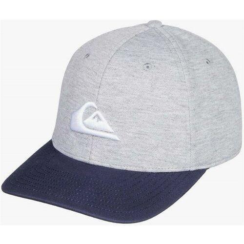 Quiksilver Czapka z daszkiem - pinpoint stretc majolica blue (bsm0) rozmiar: l/xl