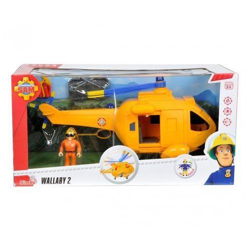 Strażak Sam Helikopter Wallaby II z figurką, 9251002 (8094026)