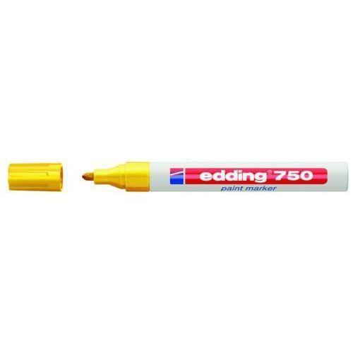 Marker olejowy 750, żółty, końcówka okrągła 2-4 mm - rabaty - porady - hurt - negocjacja cen - autoryzowana dystrybucja - szybka dostawa marki Edding