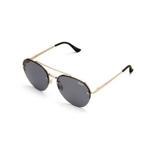 Okulary Słoneczne Quay Australia QW-000205 SOMERSET GLD/SMK