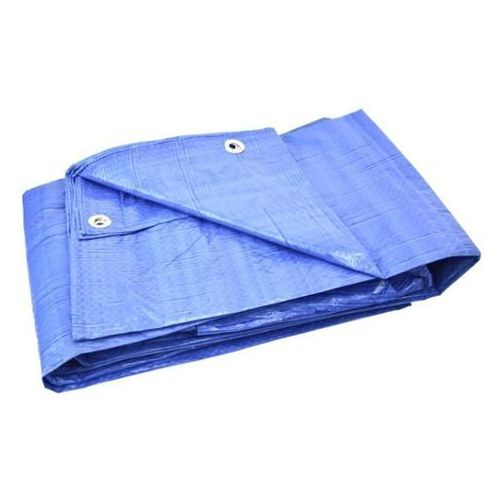 Plandeka Geko niebieska 6x8 G01960 75g.