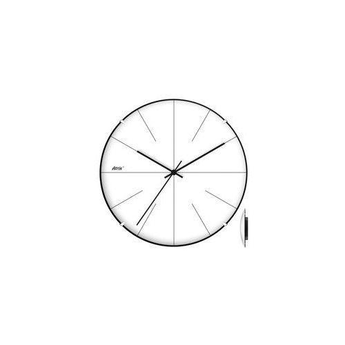 Zegar plastikowy convex Super Cichy #3, ATE2030SS3
