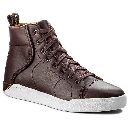 Sneakersy - s-marquise y01532 pr013 h6445 andorra bordeaux/gold marki Diesel