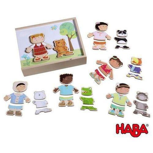 Haba  drewniane puzzle - dzieci świata, kategoria: puzzle