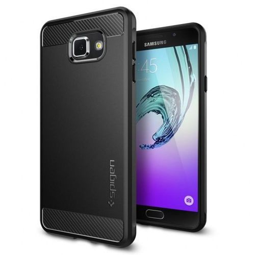 Spigen Capsule Ultra Rugged - Etui Samsung Galaxy A7 (2016) (czarny) (8809466641756)