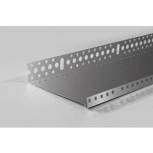 Emaga Listwa cokołowa startowa 253mm - profil startowy cokołowy 25cm 0,8mm l=2.0mb - pakiet 10 sztuk