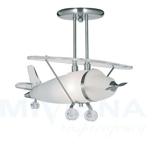 FLYA ozdobna lampa wisząca w kształcie samolotu