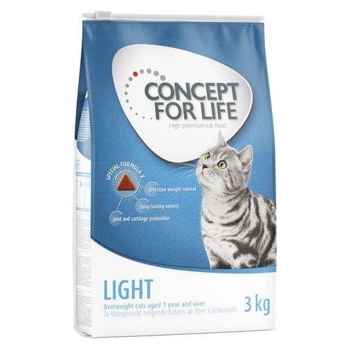 Korzystny pakiet Concept for Life - Light Adult (3 x 3 kg)| Darmowa Dostawa od 89 zł i Super Promocje od zooplus!