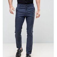 inspired skinny houndstooth trousers - black marki Reclaimed vintage