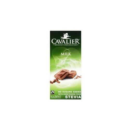 Cavalier Czekolada mleczna słodzona stewią 85g