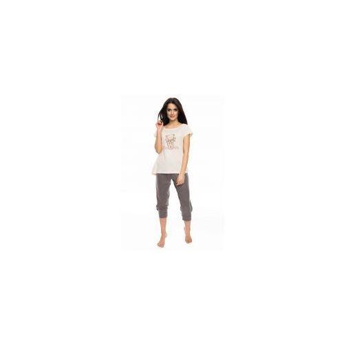 Piżama damska z krótkim rękawem Rossli SAL-PY-1052, Rossli SAL-PY-1052