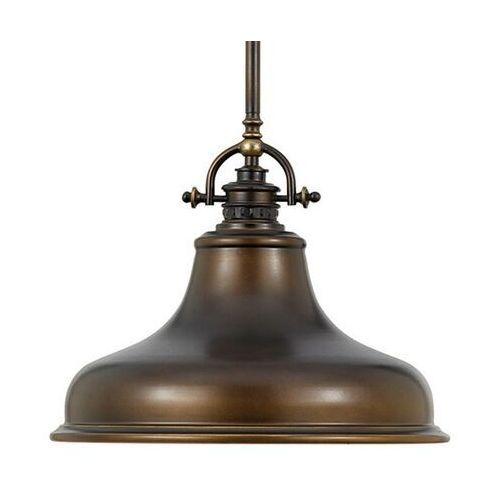 Lampa wisząca Emery 1-punktowa brązowa Ø 34,3 cm