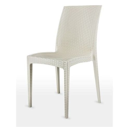 MEGA PLAST krzesło MP1352 DALIA, kremowe