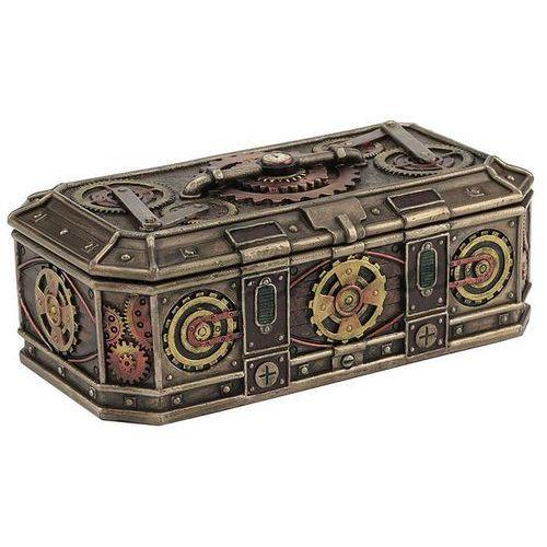 Veronese Steampunk - szkatułka z przekładnią (wu76909a4)