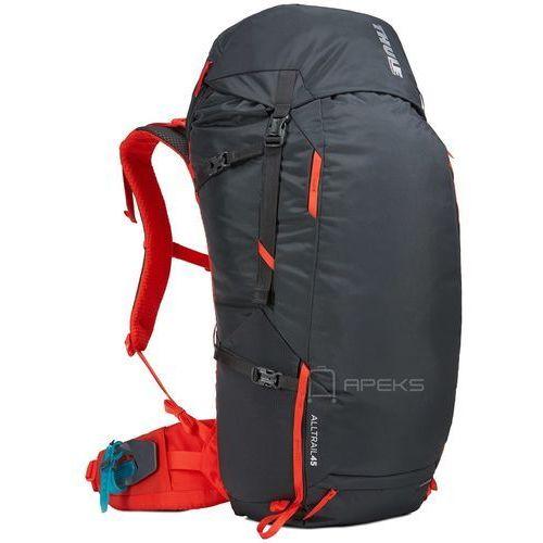 Thule alltrail 45l plecak męski turystyczny / podróżny / obsidian - obsidian (0085854240208)