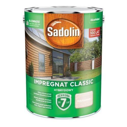 Impregnat do drewna Sadolin Hybrydowy biały kremowy 4,5 l