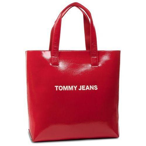 Torebka TOMMY JEANS - Tjw Modern Girl Tote AW0AW006231 661, kolor czerwony