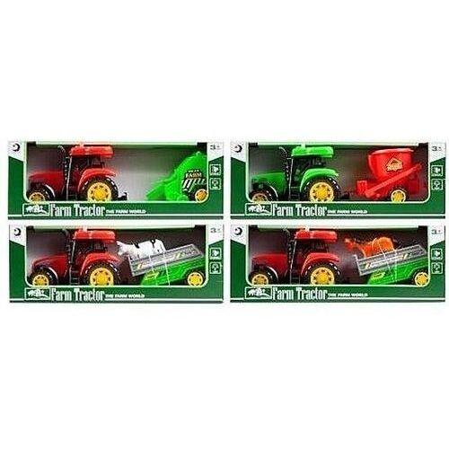 Traktor z akcesoriami mix marki Mega creative