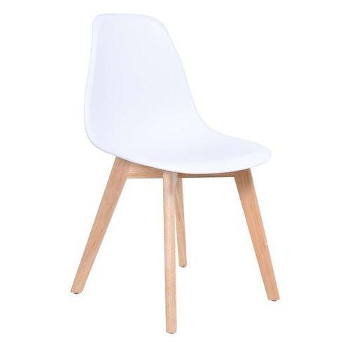 Krzesło Asti DSW Białe, kolor biały