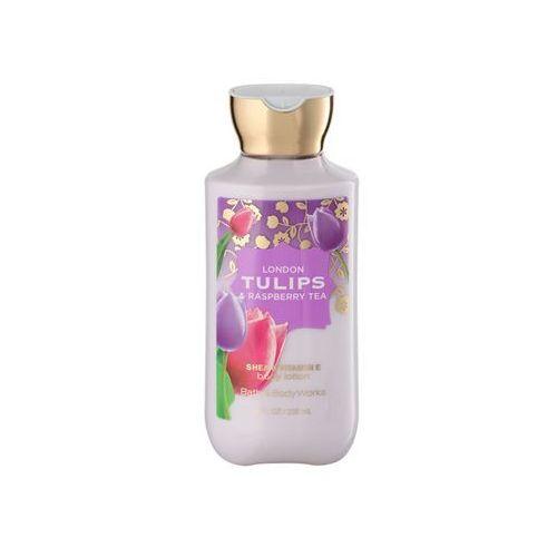 Bath & body works london tulips & raspberry tea 236 ml mleczko do ciała marki Bath & body works