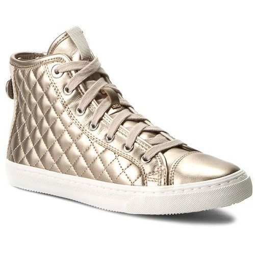 Sneakersy GEOX - D C.Club A D4258A 000NF CB5H6 Champagne/Lt Taupe